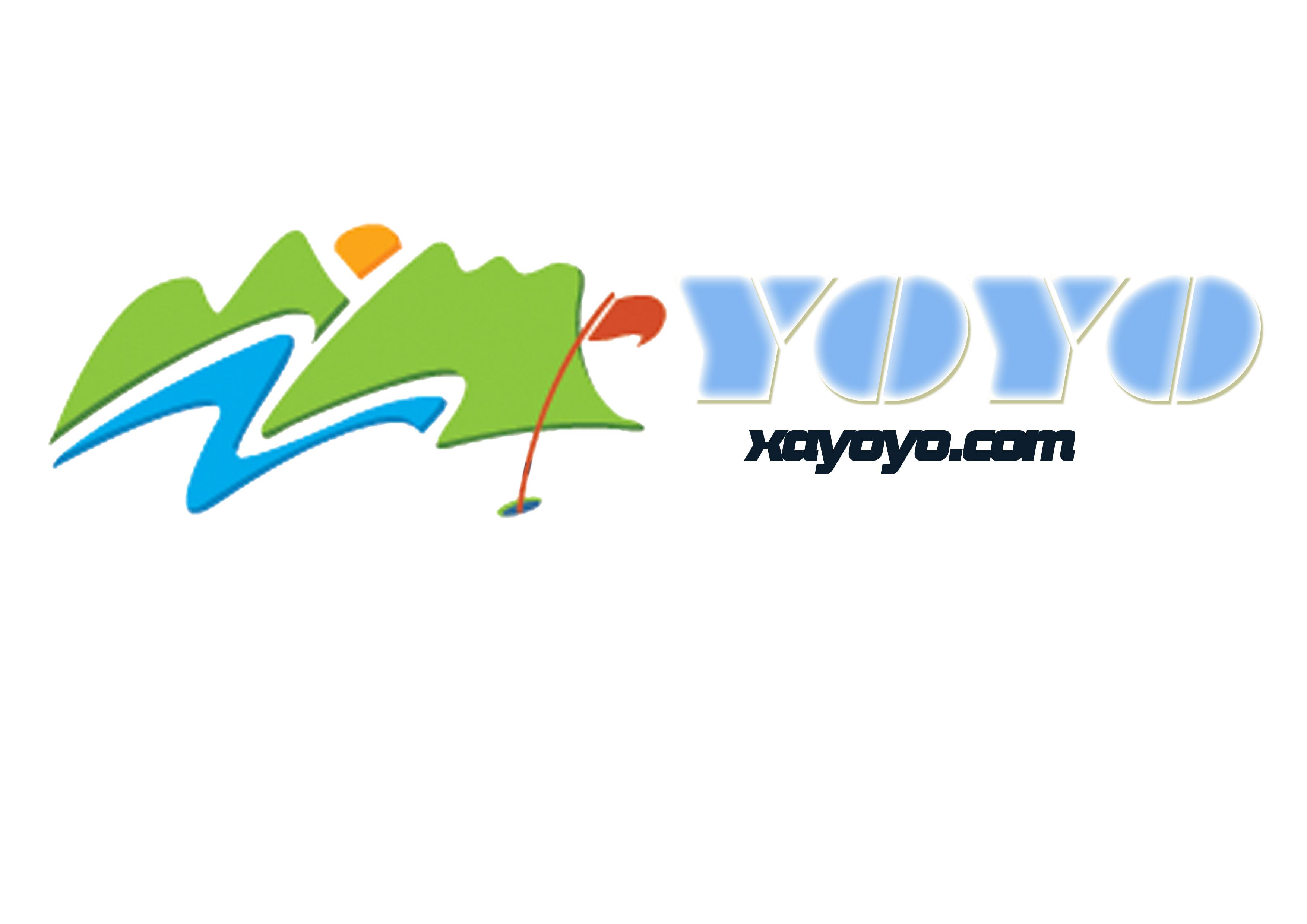 com vi設計內容:標志,標準組合,展板式樣設計 logo:yoyo 中文:悠游之