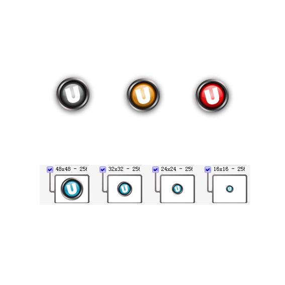 软件标志矢量图