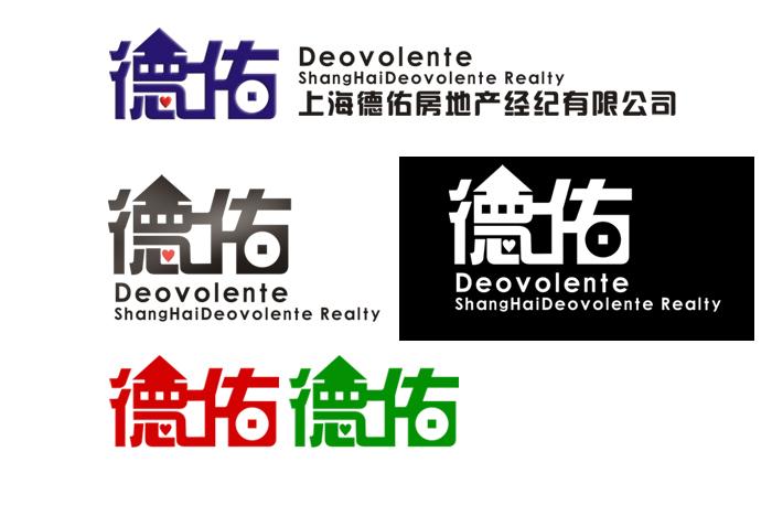 房产中介公司logo设计图片