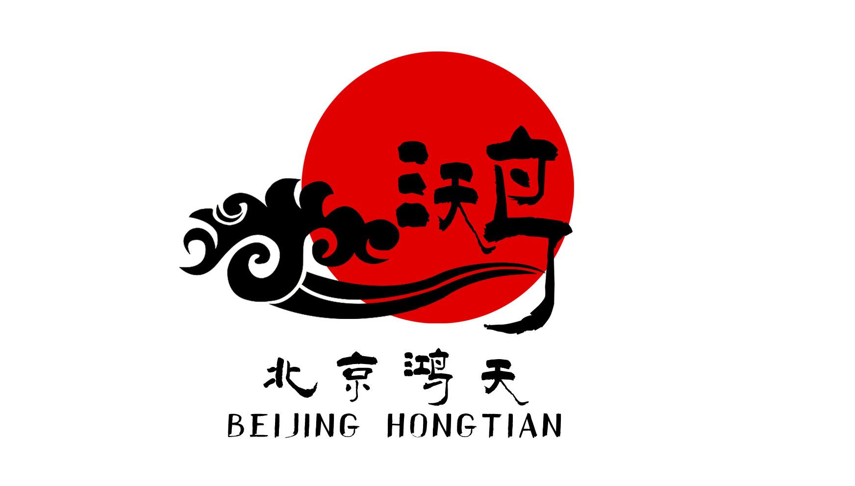 北京鸿天商业咨询公司logo设计