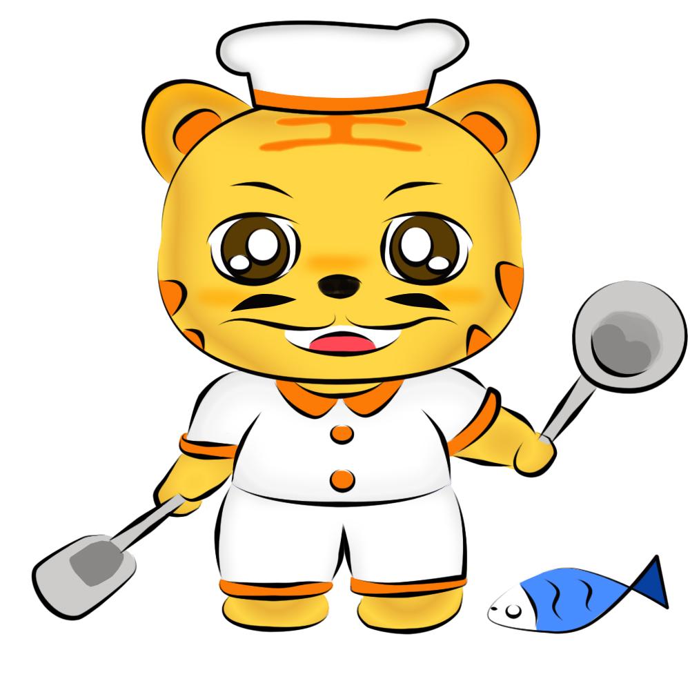 小老虎吉祥物形象设计