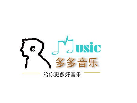 多多音乐网站 logo 设计