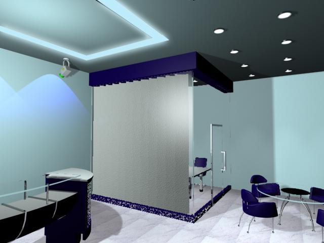 效果图 装修 玻璃/交稿用玻璃隔墙隔了两间办公室出来,左边的是总经理室,右边的是...