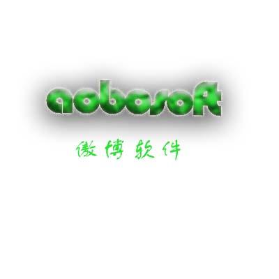 aobosoft傲博软件LOGO的职高v软件_115元_K字体中的平面设计图片