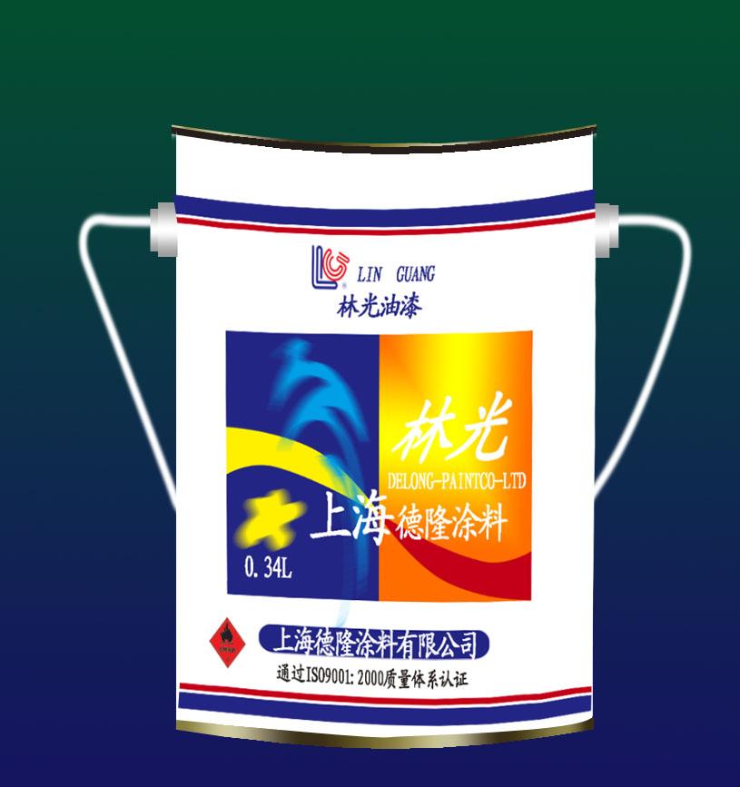工业涂料桶包装设计
