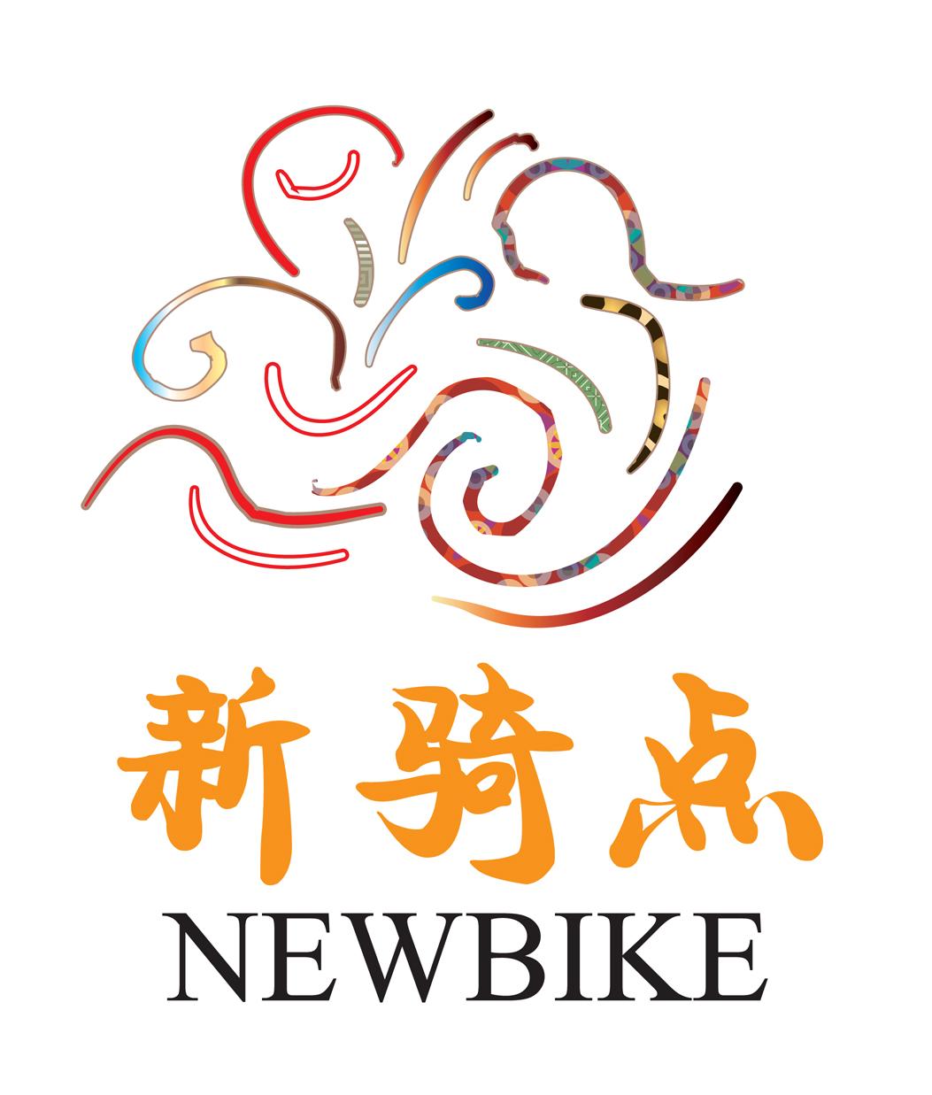 新骑点自行车俱乐部logo设计