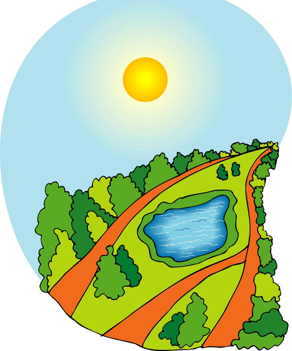 找矢量图图:清新森林空气