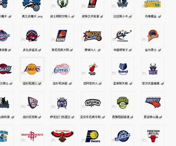 足球球队标志和名字_nba篮球队标志
