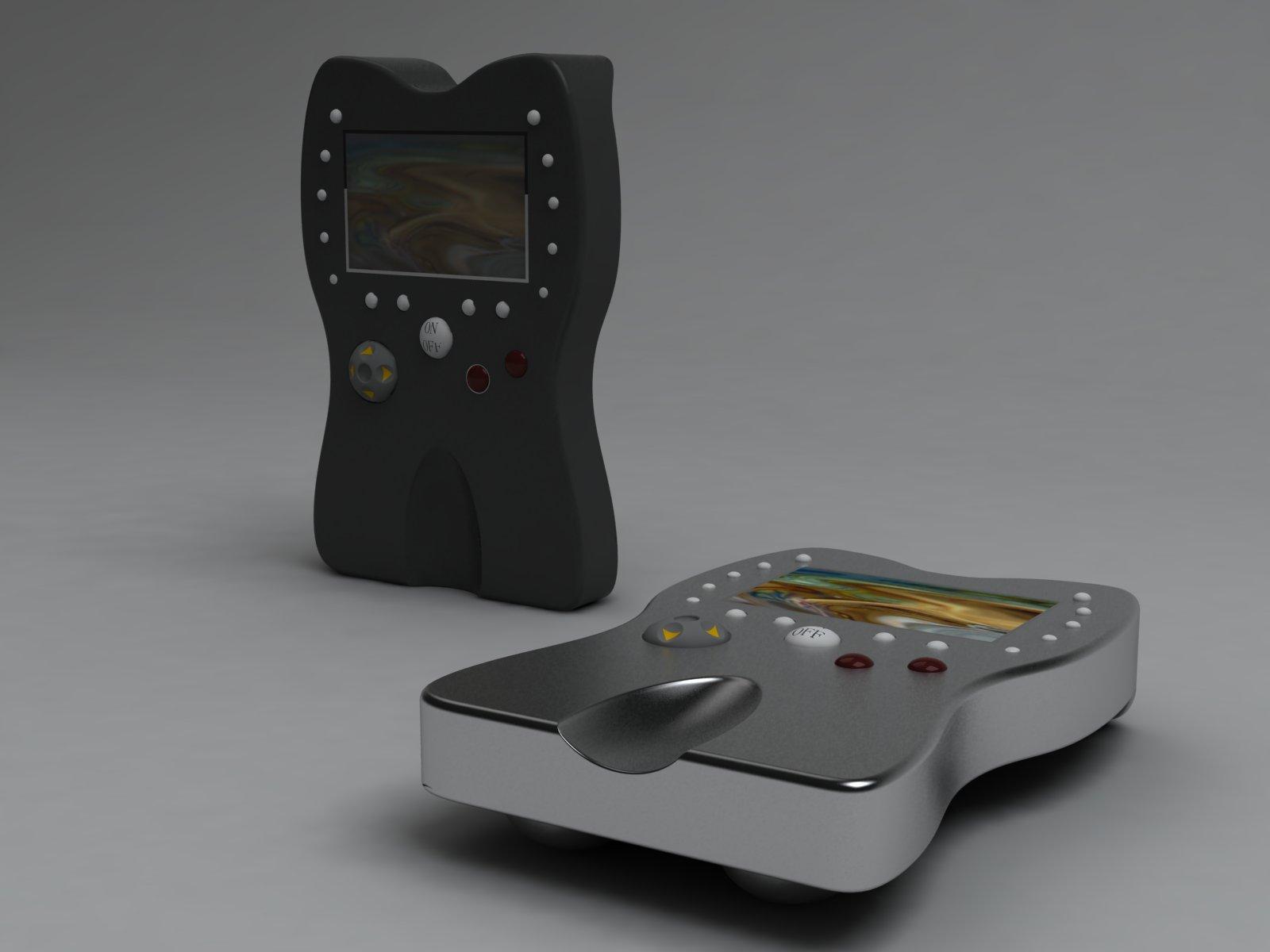 小型游戏机外观设计